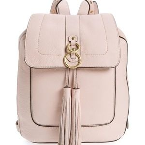 Cole Haan~ Cassidy RFID Pebbled Leather Backpack